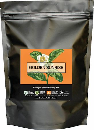 Glenburn Golden Sunrise Tea, Loose Leaf 227 gm
