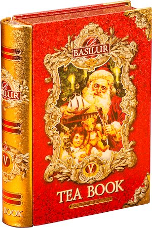 Basilur Tea Book Volume V Loose Leaf 100 gm Caddy