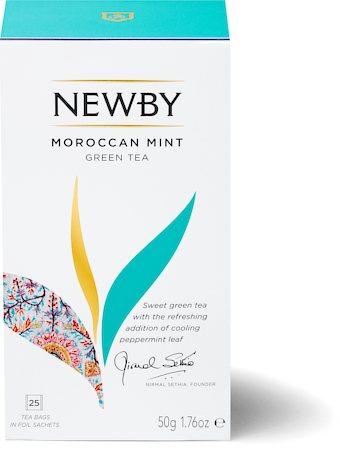 Newby Moroccan Mint Green Tea (25 tea bags)