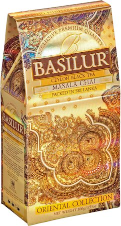 Basilur Oriental Collection Masala Chai Loose Leaf Tea 100 gm