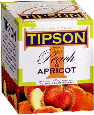 Tipson Peach & Apricot Loose Leaf Tea 100 gm