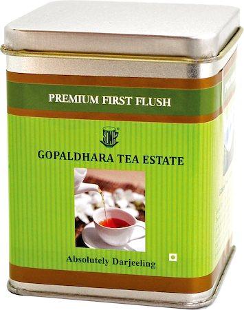 Gopaldhara Premium First Flush Tea, Loose Leaf 100 gm Caddy