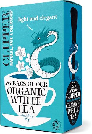 Clipper Organic White Tea (26 tea bags)