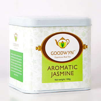 Goodwyn Aromatic Jasmine Loose Leaf Tea 100 gm Caddy