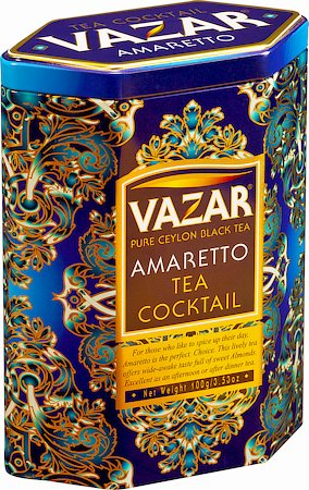 Vazar Amaretto Tea Cocktail Loose Leaf 100 gm Caddy