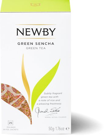 Newby Green Sencha Tea (25 tea bags)