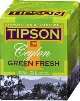 Tipson Ceylon Green Fresh Loose Leaf Tea 100 gm
