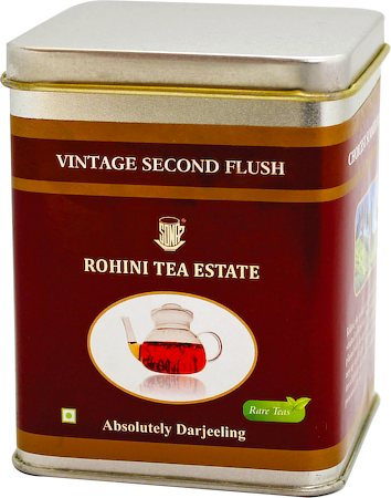 Vintage Rohini Second Flush Tea, Loose Leaf 50 gm Caddy