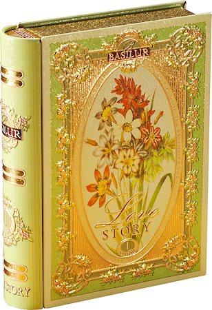 Basilur Love Story Tea Book Volume I Loose Leaf 100 gm Caddy