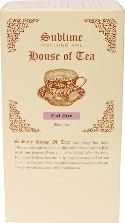 Sublime Earl Grey Tea (25 Pyramid tea bags)