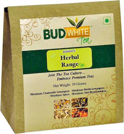 Budwhite Herbal Range Loose Leaf Tea 50 gm