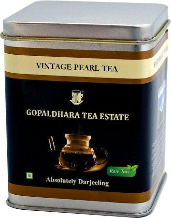 Gopaldhara Vintage Pearl Black Tea, Loose Leaf 50 gm Caddy