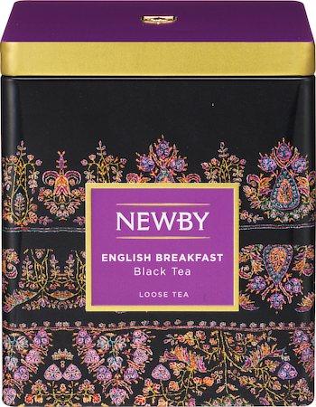 Newby Classic English Breakfast Loose Leaf Black Tea, 125 gm Caddy