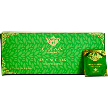Goodwyn Aromatic Jasmine Green Tea (100 tea bags)