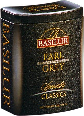 Basilur Specialty Classics Earl Grey Loose Tea 100 gm Caddy