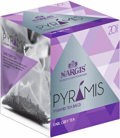 Nargis Pyramis Earl Grey Tea (20 pyramid tea bags)