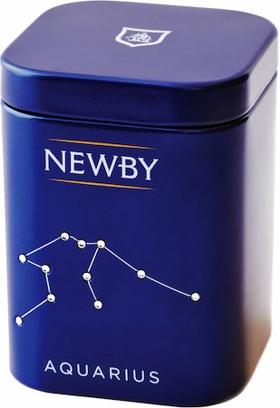 Newby Zodiac - AQUARIUS Darjeeling, Loose Leaf 25 gm Mini Caddy