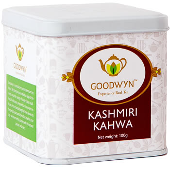 Goodwyn Kashmiri Kahwa Loose Leaf Tea 100 gm Caddy