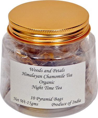 Woods and Petals Himalayan Chamomile Tea (10 Pyramid tea bags)
