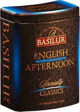 Basilur Specialty Classics English Afternoon Loose Tea 100 gm Caddy