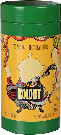 Kolony Premium Assam CTC and Orthodox Leaf Tea Blend, 100 gm