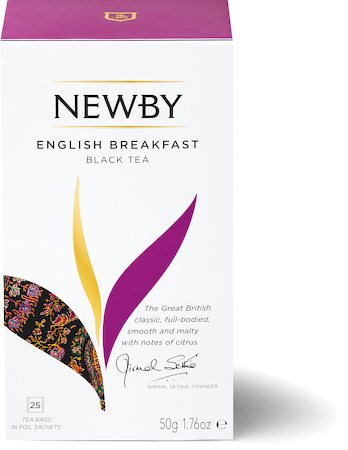 Newby English Breakfast Black Tea (25 tea bags)