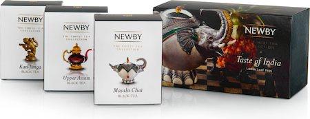 Newby Taste of India - Loose Leaf Teas Gift Box (3 mini cartons)