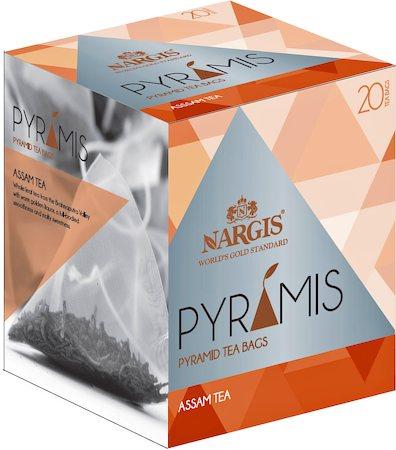 Nargis Pyramis Assam Black Tea (20 pyramid tea bags)
