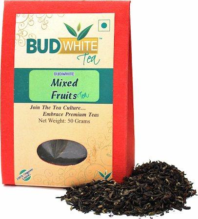 Budwhite Mixed Fruits Organic Loose Full-Leaf Tea 50 gm