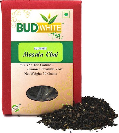 Budwhite Masala Chai Organic Loose Full-Leaf Tea 50 gm