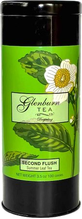 Glenburn Darjeeling Second Flush Tea, Loose 100 gm Caddy