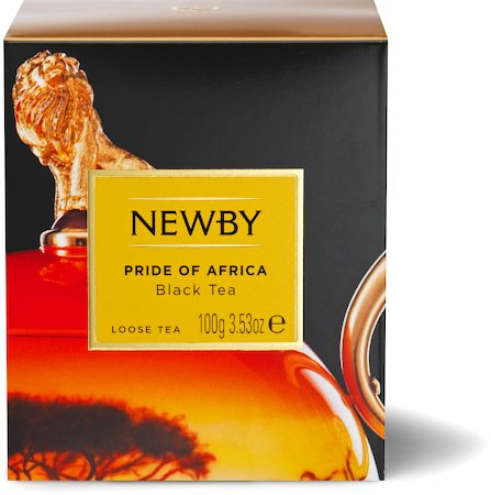 Newby Heritage Pride of Africa Loose Leaf Black Tea, 100 gm Carton