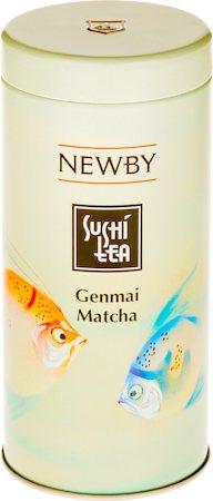Newby Sushi Genmai Matcha Green Tea, 100 gm Caddy