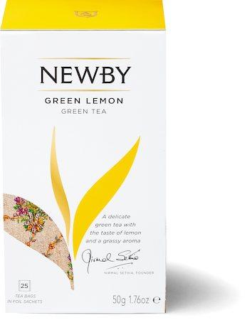 Newby Green Lemon Tea (25 tea bags)
