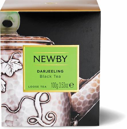 Newby Heritage Darjeeling Loose Leaf Tea, 100 gm Carton