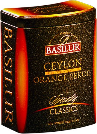 Basilur Specialty Classics Ceylon Orange Pekoe Loose Tea 100 gm Caddy