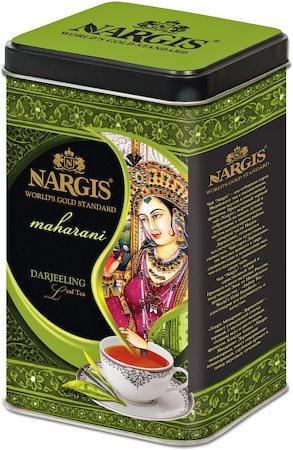 Nargis Maharani Darjeeling Black Tea, Loose Leaf 200 gm Premium Caddy