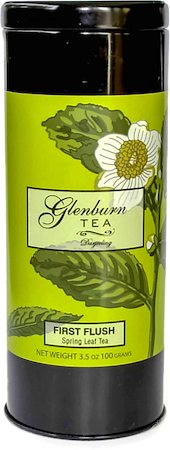Glenburn Darjeeling First Flush Tea, Loose 100 gm Caddy