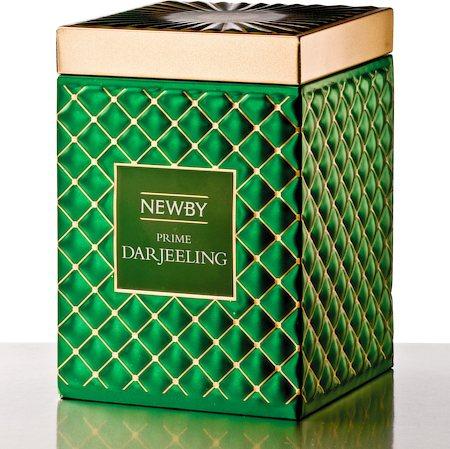 Newby Gourmet Prime Darjeeling Black Tea, 100 gm Caddy