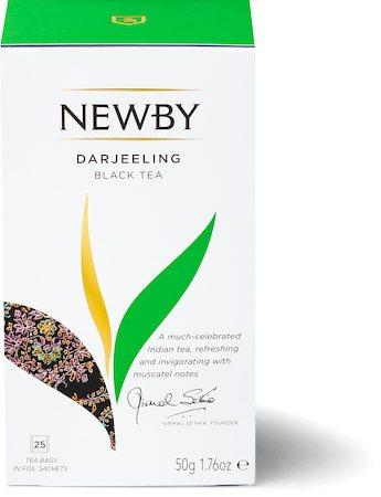 Newby Darjeeling Black Tea (25 tea bags)
