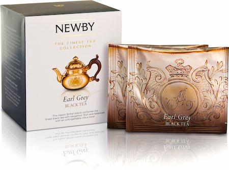 Silken Pyramids - Earl Grey Tea (10 Pyramid tea bags)