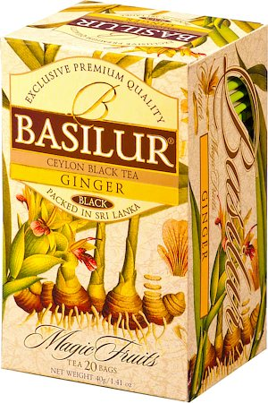 Basilur Magic Fruits Ginger (20 tea bags)