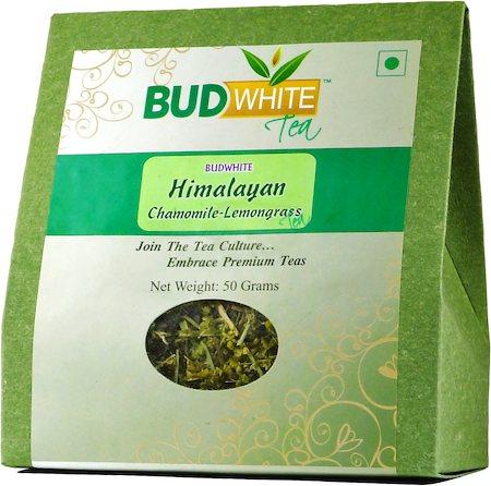 Budwhite Himalayan Chamomile-Lemongrass Loose Leaf Tea 50 gm