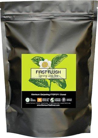 Glenburn Darjeeling First Flush Tea, Loose Leaf 227 gm