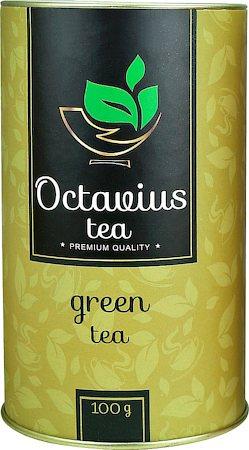 Octavius Whole Leaf Darjeeling Green Tea - Premium Gift Caddy, 100 gm