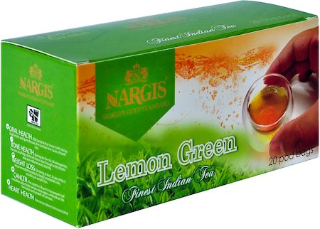Nargis Lemon Loose Leaf Black Tea (20 pod bags)
