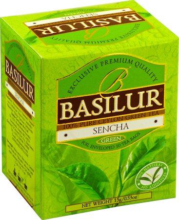 Basilur Bouquet Sencha Green Tea (10 tea bags)