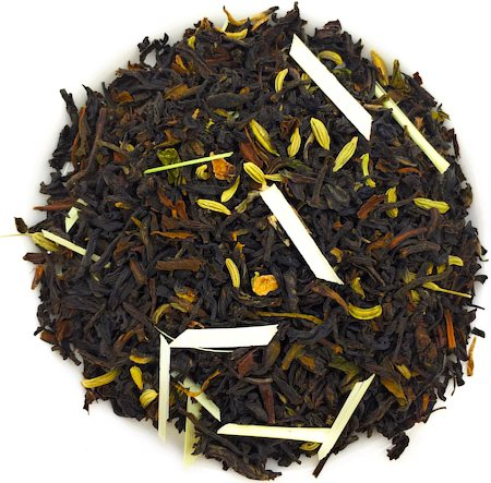 Nargis Fennel Lemongrass Darjeeling Black Tea, Loose Leaf 100 gm