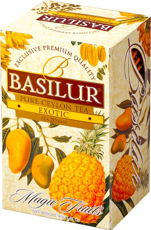Basilur Magic Fruits Exotic (20 tea bags)