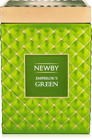 Newby Gourmet Emperor's Green Green Tea, 100 gm Caddy